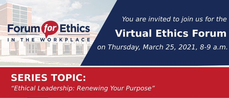 Byron Roth Hosts DeSales Ethics Forum March 2021